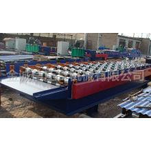 Farbe Stahl Wellpappe Formmaschine / Metall Dachziegel / Dachblech Formmaschine