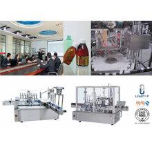Máquina automática de la tapa de la botella del equipo de embotellado líquido 30-40bottles / Min 10-500ml