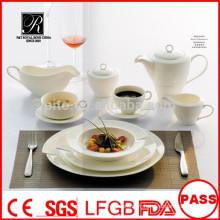 Vente en gros de plaques de qualité et de qualité supérieure Ensembles de vaisselle de haute qualité pour banquet restaurant