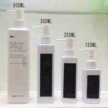 Garrafa cosmética do champô da garrafa do animal de estimação de 150ml 200ml 300ml 50mml