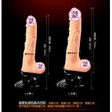 High Quality Realistic 100% Silicone Dildo Women Sex (IJ-DV0082)