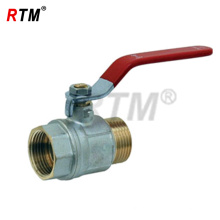 Válvula de bola del calentador de agua de 1 pulgada M * F