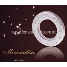 Ilhoses de moda de vestuário e anilhas de plástico anéis de cortina ilhoses