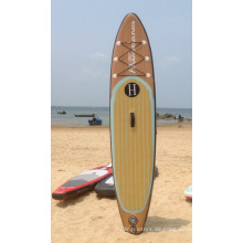 Neues Design Holzmuster Sup Paddle Long Boards