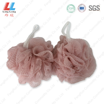 Removal strongly mesh wavy sponge ball