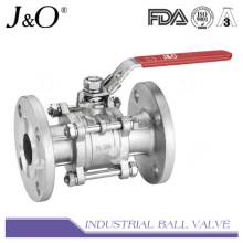 3PC Flanged End Ball Valve ASME 300lbs