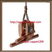 copper silver trolley wire