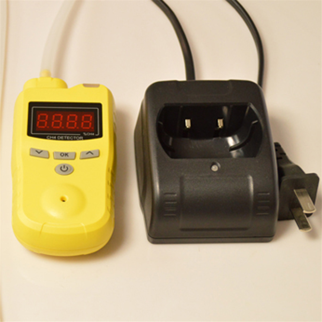 Gas detector ABS+PC case durable buttons