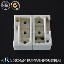 Pièces de machines en céramique d'alumine à hautes températures