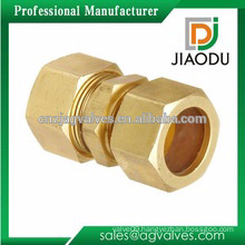 china manufacture hot sale factory brass female or male hydraulic hose fitting for pipes