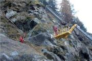 high tensile hillside stabilization rockfall mesh with supe