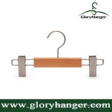 Beech Wood Pants Hanger com clipes