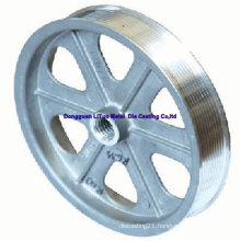Flat Belt Pulleys/Belt Pulley/Aluminum Pulley/Pulley/Timing Pulley/Aluminum Roller/Aluminum Wheel