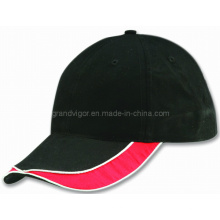 Blank Cotton Baseball Cap with Self Fabric Velcro