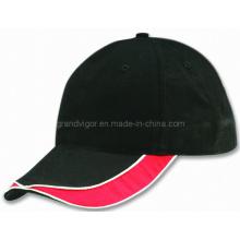 Blank Cotton Baseball Cap with Self Fabric Velcro