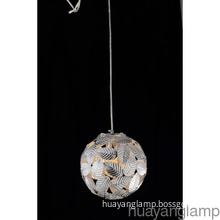 CE Modern Single Aluminum Round Pendant Lamp