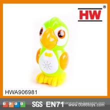 Buena calidad BO flash parrot animal toy