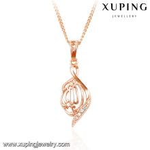 32769-xuping fashion rose gold color diaomond muslim pendant