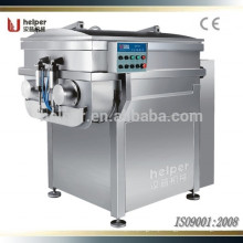 Vacuum Meat Mixer pneumatic discharging two speed