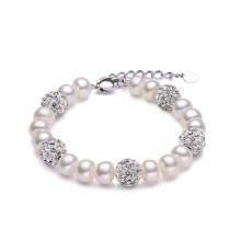 Goods high definition for Link Charm Bracele Mother of Pearl Wedding Bracelet export to Turks and Caicos Islands Factory