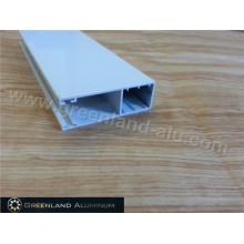 Tablero de aluminio del perfil del rodillo del perfil con el blanco revestido del polvo
