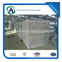 Malha galvanizada revestida zinco de Gabion 350g
