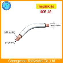 Pièces de soudage au gaz Tregaskiss 405-45 soudure en col de cygne