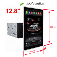 12,8 polegadas Tesla Universal Car Radio Voice Control