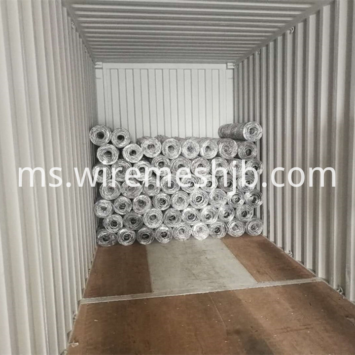 Galvanized Woven Field Fence