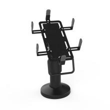 Universal black terminal POS stand swivel credit card machine pos stand holder