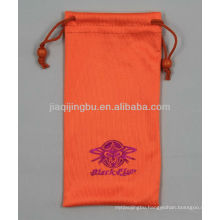 double drawstring eyeglasses bag