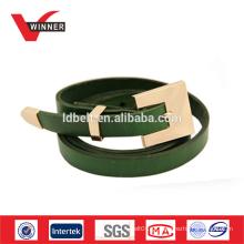 Cinturões de couro feitos sob encomenda das senhoras