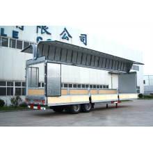 Veículo de corpo de caixa de veículo de abertura de asa