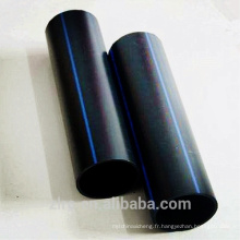 PE 80 liste de prix durable polyéthylène résistant à l'usure PEHD tuyau