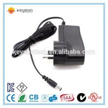 AU plug AC DC adaptador 6v1.5a fonte de alimentação 6v 1.5a adaptador de energia para o mercado australiano