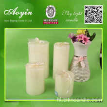 Classic 5*5 White Round Pillar Candle