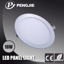 Plafonnier blanc de 18W LED avec du CE (rond)