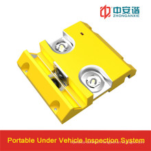 24VDC Bank Depot Under Vehicle Inspection System with Internet Interface