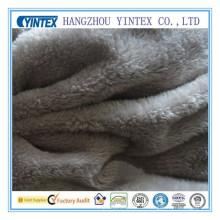 Korallenrotes Fleece-Gewebe des Polyester-150GSM für Haus