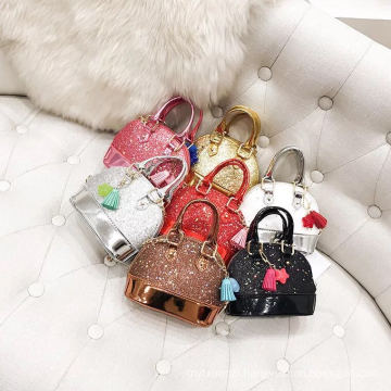 Fashion designer sequin paillette handbag wholesale china for girls