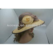 2014 new style lady sinamay hat for church party