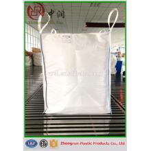 poubelle et déchets de construction grand sac / 1000 kg pp en vrac grand sac / PP sac de matériaux de construction en vrac sac