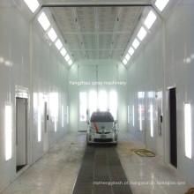A cabine industrial da pintura do caminhão pode costume