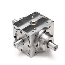 Custom Steel Power Off 4 Way Bevel Gearbox