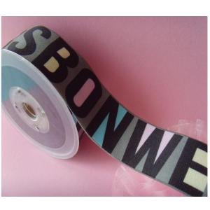 Custom Colored Printed Elastic Bands for Underwear