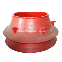 High Manganese Steel Casting Wear Resistant Parts for Cone Crusher