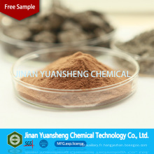 Auxiliaire de bronzage au lignosulfonate de calcium pour le cuir