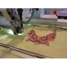 Computerized Sequin Embroidery Machine with Long Embroidery Area for Silk, Sheer Fabrics etc
