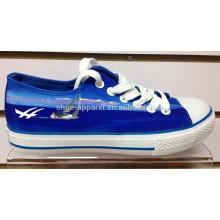 2014 königsblaue China Leinwand Schuh