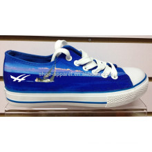 2014 royal blue china canvas shoe